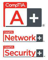 CompTIA certified for Network and Security